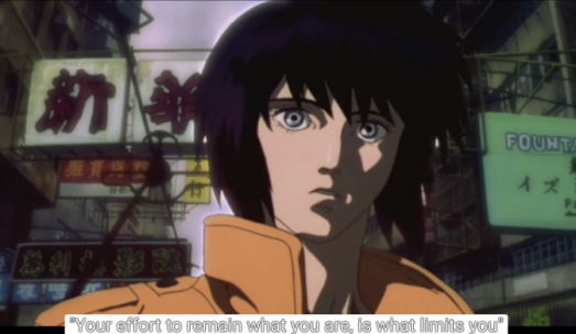 Ghost in the Shell. Mamoru Oshii. Production I.G, 1995. Film.